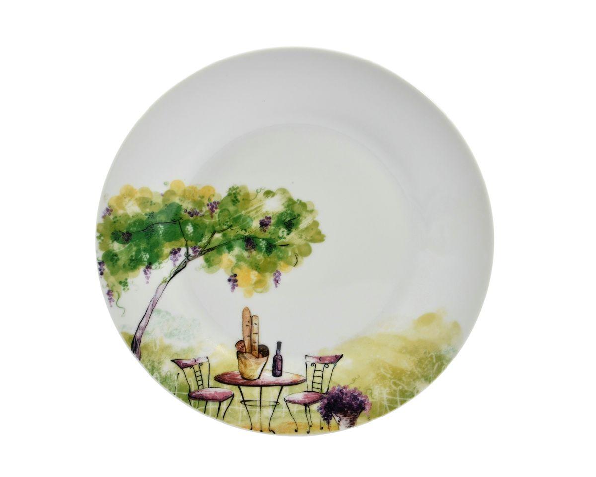 Тарелка десертная Dasen Дерево, диаметр 19 смDNDS0008-3Десертная тарелка Dasen Дерево, изготовленная из высококачественного фаянса, предназначена для красивой подачи различных блюд. Изделие декорировано изящным рисунком. Такая тарелка украсит сервировку стола и подчеркнет прекрасный вкус хозяйки. Можно мыть в посудомоечной машине и использовать в микроволновой печи. Диаметр: 19 см. Высота: 1,5 см.