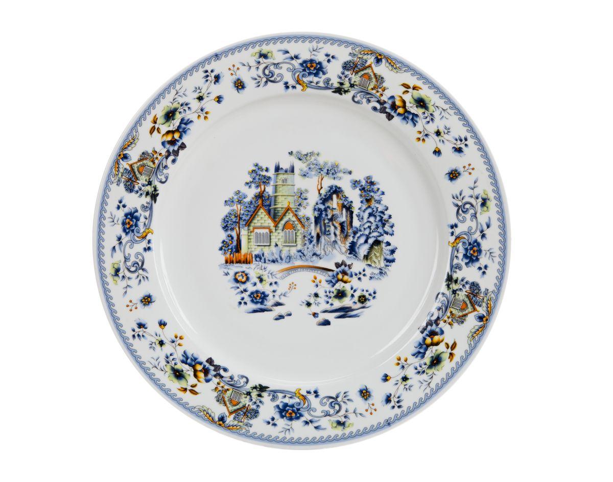 Тарелка десертная Nanshan Porcelain Пейзаж, диаметр 19 смGNNSH02475Тарелка десертная Nanshan Porcelain Пейзаж изготовлена из высококачественного фарфора. Предназначена для красивой подачи различных блюд. Изделие декорировано ярким рисунком. Такая тарелка украсит сервировку стола и подчеркнет прекрасный вкус хозяйки. Можно мыть в посудомоечной машине и использовать в СВЧ. Диаметр: 19 см. Высота: 1,5 см.