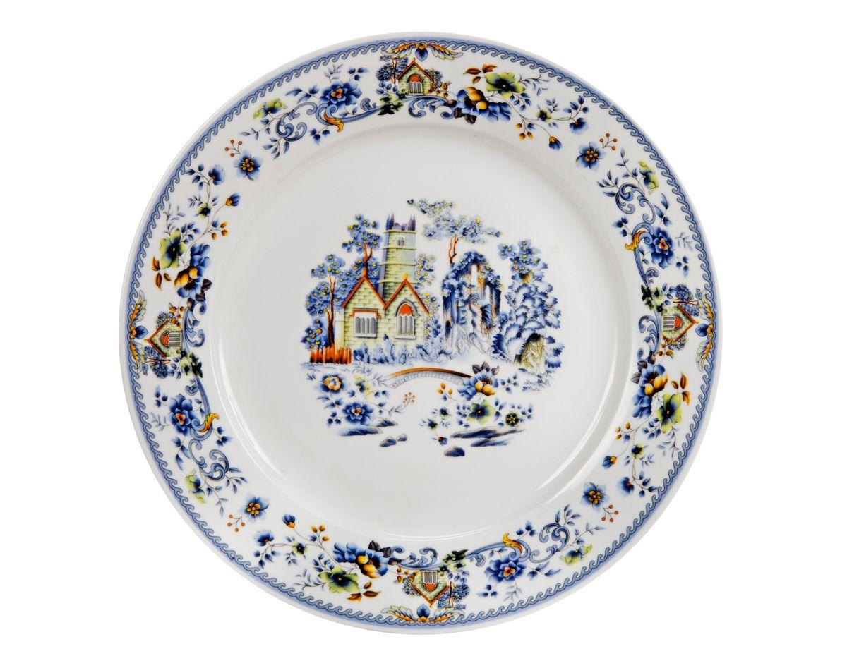 Тарелка для горячего Nanshan Porcelain Пейзаж, диаметр 23 смGNNSH02480Тарелка для горячего Nanshan Porcelain Пейзаж изготовлена из высококачественного фарфора. Предназначена для красивой подачи различных блюд. Изделие украшено ярким рисунком. Такая тарелка украсит сервировку стола и подчеркнет прекрасный вкус хозяйки. Можно мыть в посудомоечной машине и использовать в микроволновой печи. Диаметр: 23 см. Высота: 2,5 см.