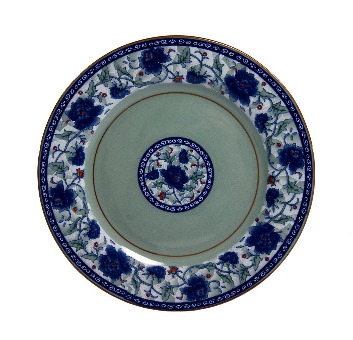 Тарелка десертная Nanshan Porcelain Харбин, диаметр 17,5 смGNNSHB024Десертная тарелка Nanshan Porcelain Харбин изготовлена из высококачественной керамики. Предназначено для красивой подачи различных блюд. Посуда безопасна для здоровья и окружающей среды. Внутренние стенки оформлены изящным узором. Такая тарелка украсит сервировку стола и подчеркнет прекрасный вкус хозяйки. Можно мыть в посудомоечной машине и использовать в микроволновой печи. Диаметр: 17,5 см. Высота: 1,5 см.