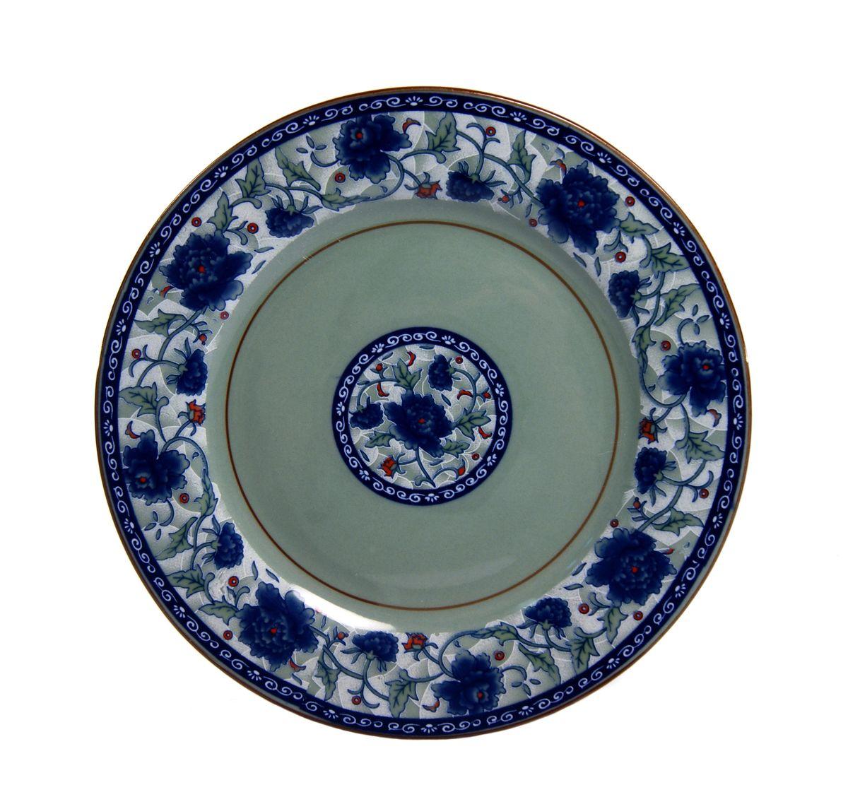 Тарелка Nanshan Porcelain Харбин, диаметр 18 смGNNSHB028Тарелка Nanshan Porcelain Харбин изготовлена из высококачественной керамики. Предназначена для красивой подачи различных блюд. Изделие украшено ярким рисунком. Такая тарелка украсит сервировку стола и подчеркнет прекрасный вкус хозяйки. Можно мыть в посудомоечной машине и использовать в микроволновой печи. Диаметр: 18 см. Высота: 2 см.