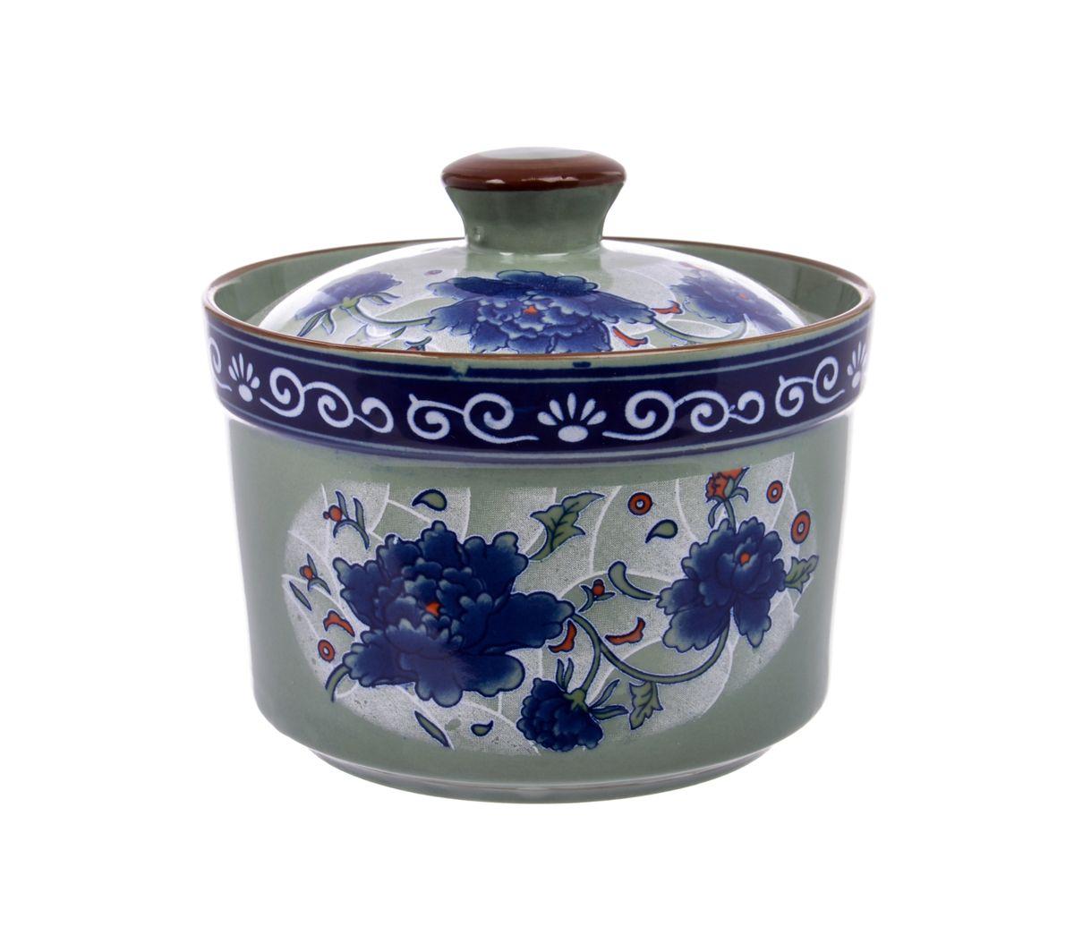Кастрюля Nanshan Porcelain Харбин с крышкой, 550 млGNNSHB042Кастрюля Nanshan Porcelain Харбин, изготовленная из высококачественной керамики и декорированная цветочным рисунком, прекрасно подойдет для запекания. В комплект входит крышка. Изделия из керамики идеально подходят как для приготовления пищи, так и для подачи на стол. Материал не содержит свинца и кадмия. С такой кастрюлей вы всегда сможете порадовать близких оригинальным блюдом. Кастрюлю можно использовать в микроволновой печи. Можно мыть в посудомоечной машине. Диаметр кастрюли (по верхнему краю): 12 см. Высота кастрюли (с учетом крышки): 11 см. Высота стенок: 8 см. Толщина стенок: 0,5 см. Толщина дна: 0,7 см.