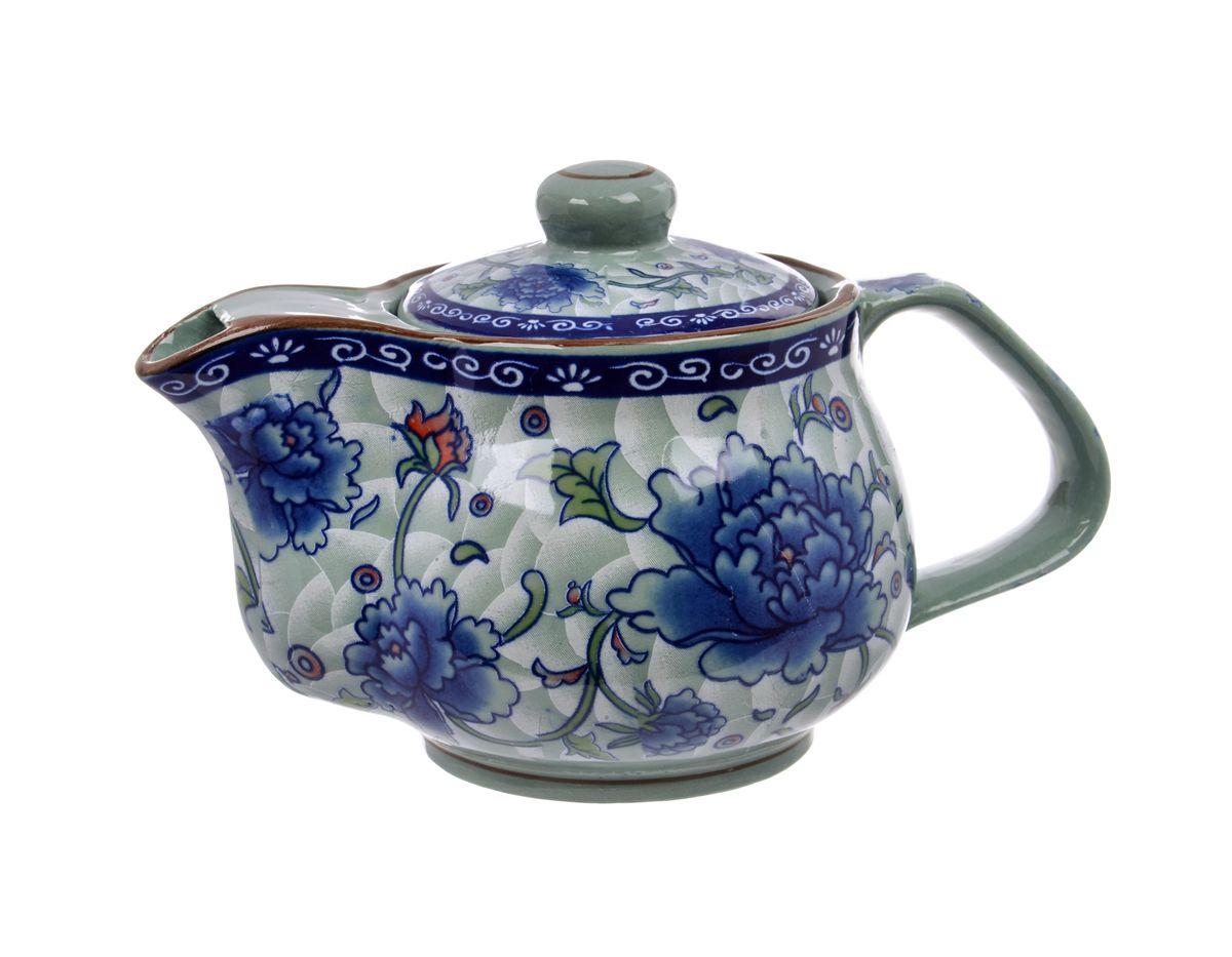 Чайник заварочный Nanshan Porcelain Харбин, 500 млGNNSHB046Чайник заварочный Nanshan Porcelain Харбин изготовлен из высококачественной керамики и декорирован ярким изображением цветов. Такой дизайн, несомненно, придется вам по вкусу. Чайник заварочный Nanshan Porcelain Харбин украсит кухонный стол, а также станет замечательным подарком для ваших друзей и близких. Можно мыть в посудомоечной машине и использовать в микроволновой печи. Диаметр чайника (по верхнему краю): 6 см. Высота чайника (без учета крышки): 9 см.