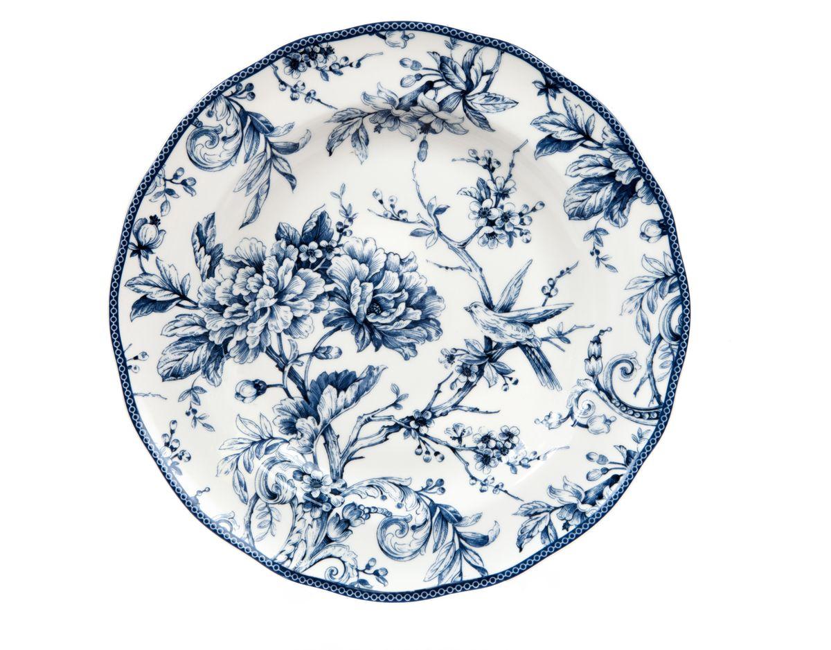 Блюдо Utana Аделаида, диаметр 33 смUTAD97310Блюдо Utana Аделаида, изготовленное из керамики, оформлено изящным цветочным узором. Такое блюдо сочетает в себе изысканный дизайн с максимальной функциональностью. Красочность оформления придется по вкусу тем, кто предпочитает утонченность и изящность. Оригинальное блюдо украсит сервировку вашего стола и подчеркнет прекрасный вкус хозяйки, а также станет отличным подарком. Можно использовать в микроволновой печи и мыть в посудомоечной машине. Диаметр: 33 см. Высота: 3 см.
