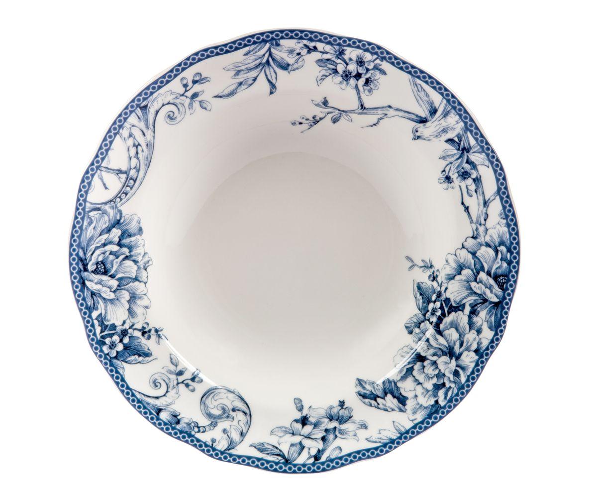 Тарелка глубокая Utana Аделаида, диаметр 23,5 смUTAD97920Тарелка Utana Аделаида изготовлена из высококачественной керамики. Предназначена для подачи супа или салата. Изделие декорировано оригинальным орнаментом. Такая тарелка украсит сервировку стола и подчеркнет прекрасный вкус хозяйки. Диаметр: 22,5 см. Высота: 4,5 см.