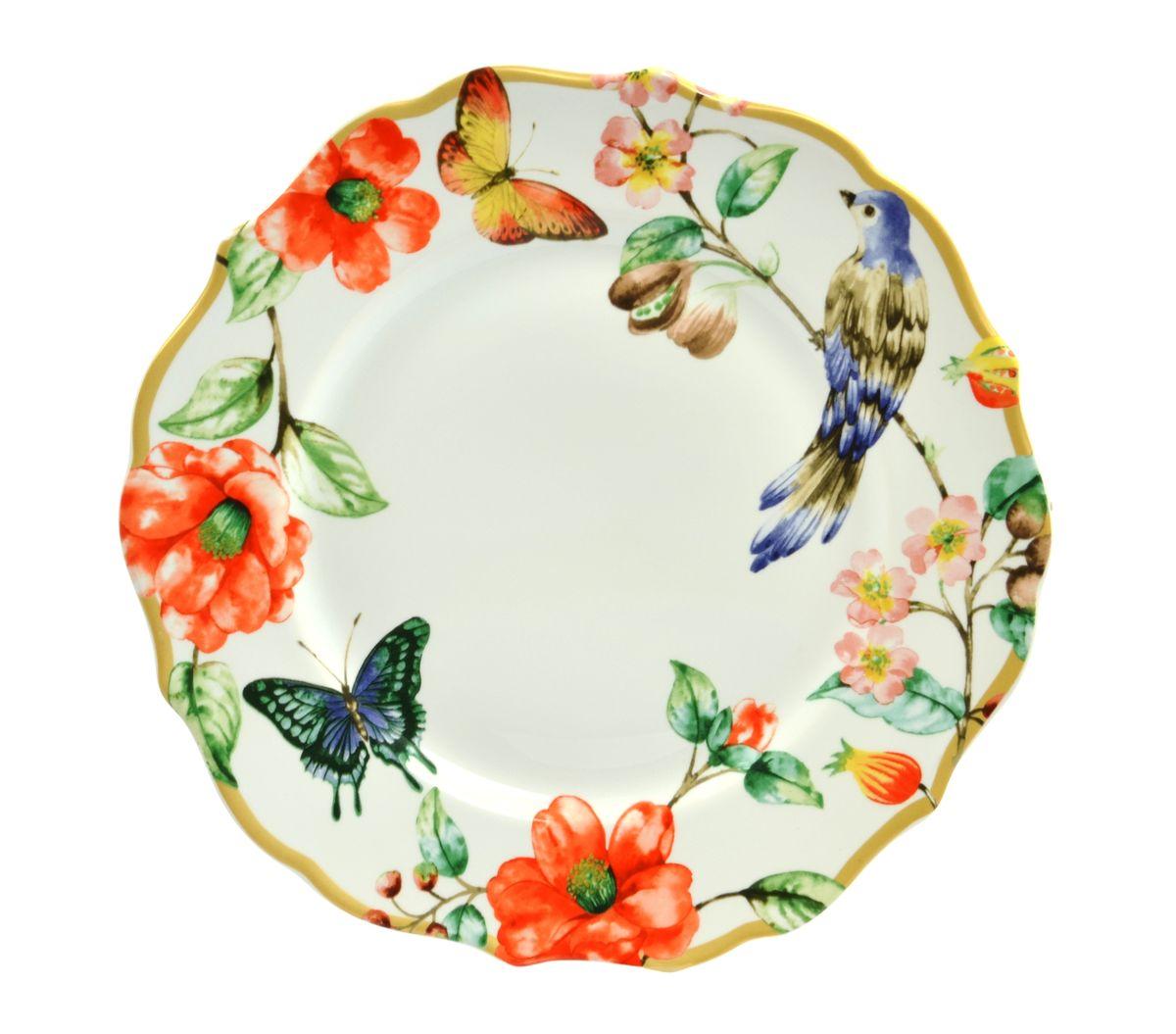 "Тарелка обеденная Utana ""Райский сад"", диаметр 27 см"