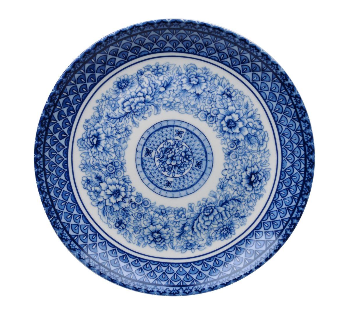 Тарелка для горячего Utana Династия, диаметр 27 смUTBD36110Тарелка Utana Династия изготовлена из высококачественной керамики. Предназначена для подачи вторых блюд. Изделие декорировано оригинальным орнаментом. Такая тарелка украсит сервировку стола и подчеркнет прекрасный вкус хозяйки. Можно мыть в посудомоечной машине и использовать в СВЧ. Диаметр: 27 см. Высота: 3,5 см.