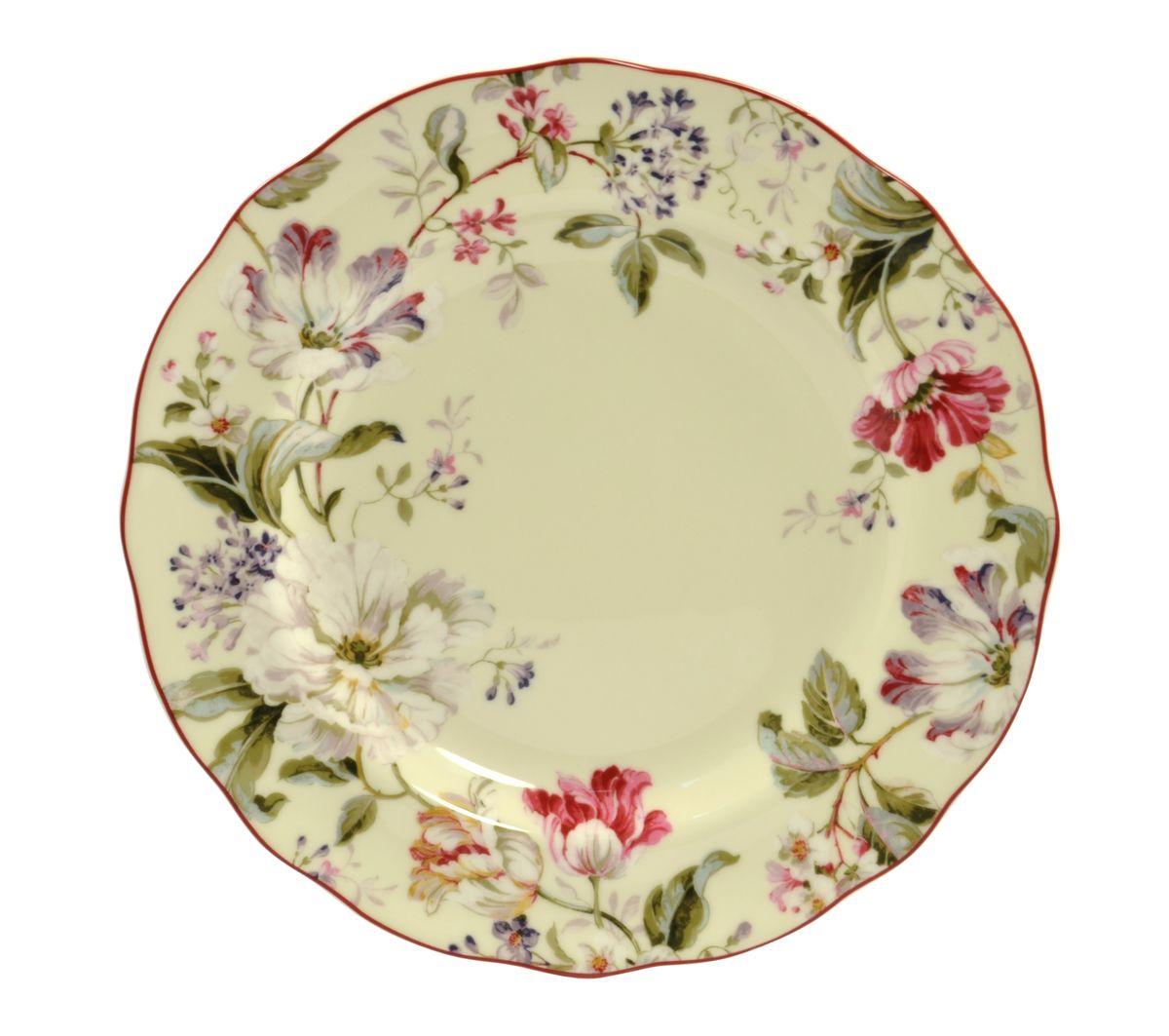 Тарелка обеденная Utana Жизела, диаметр 27,5 смUTGC97110Тарелка обеденная Utana Жизела, изготовленная из высококачественной керамики, предназначена для красивой подачи различных блюд. Изделие декорировано ярким цветочным рисунком. Такая тарелка украсит сервировку стола и подчеркнет прекрасный вкус хозяйки. Можно мыть в посудомоечной машине и использовать в СВЧ. Диаметр: 27,5 см. Высота: 3 см.