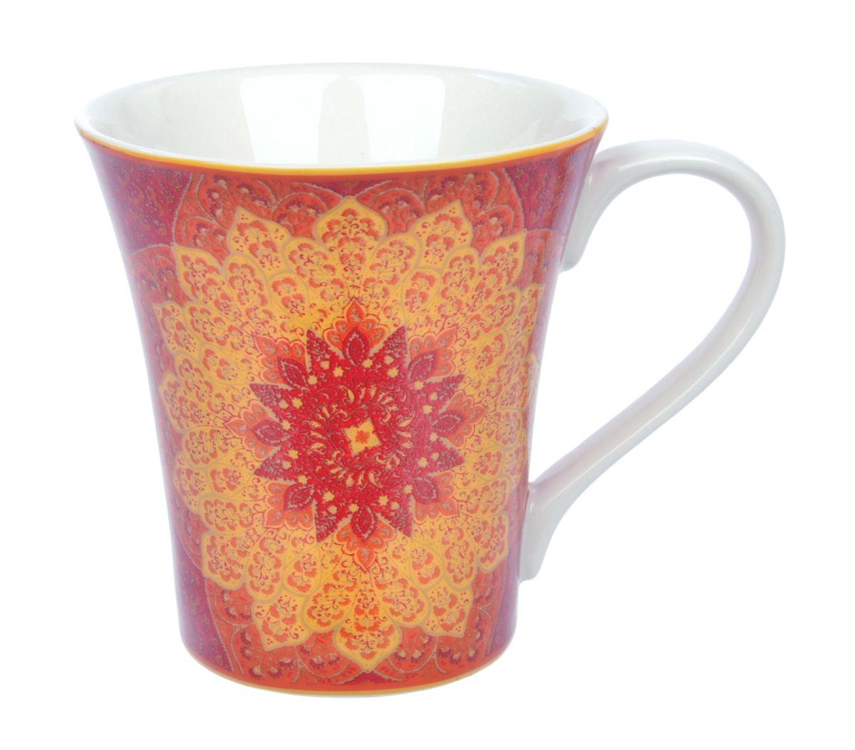 Кружка Kashan Red, 330 млUTKR18701Кружка Kashan Red изготовлена из высококачественной керамики. Внешние стенки изделия оформлены красочным цветочным рисунком. Такая кружка прекрасно подойдет для горячих и холодных напитков. Она дополнит коллекцию вашей кухонной посуды и будет служить долгие годы. Можно использовать в посудомоечной машине и СВЧ. Объем кружки: 330 мл. Диаметр кружки (по верхнему краю): 10 см. Высота стенки кружки: 10,5 см.
