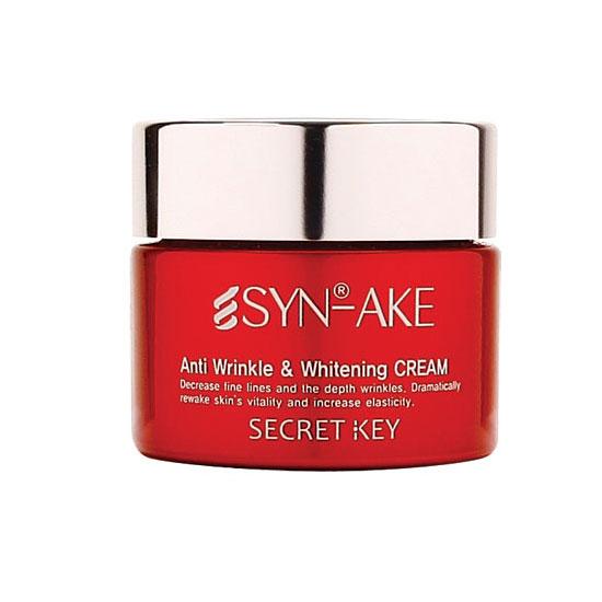 Secret Key Отбеливающий крем для лица SYN-AKE Anti Wrinkle  Whitening Cream 50 гр