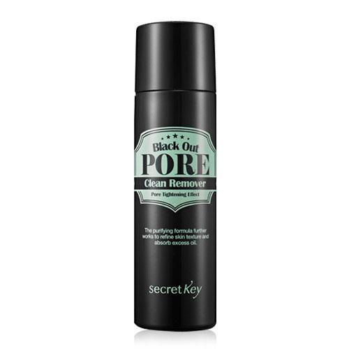Secret Key Средство для очищения пор Black out pore clean remover 100 мл.94272Средство для удаления черных точек содержит древесный уголь, который отшелушивает омертвевшие клетки кожи, абсорбирует кожный жир, глубоко очищает поры кожи от загрязнений, не пересушивая её.