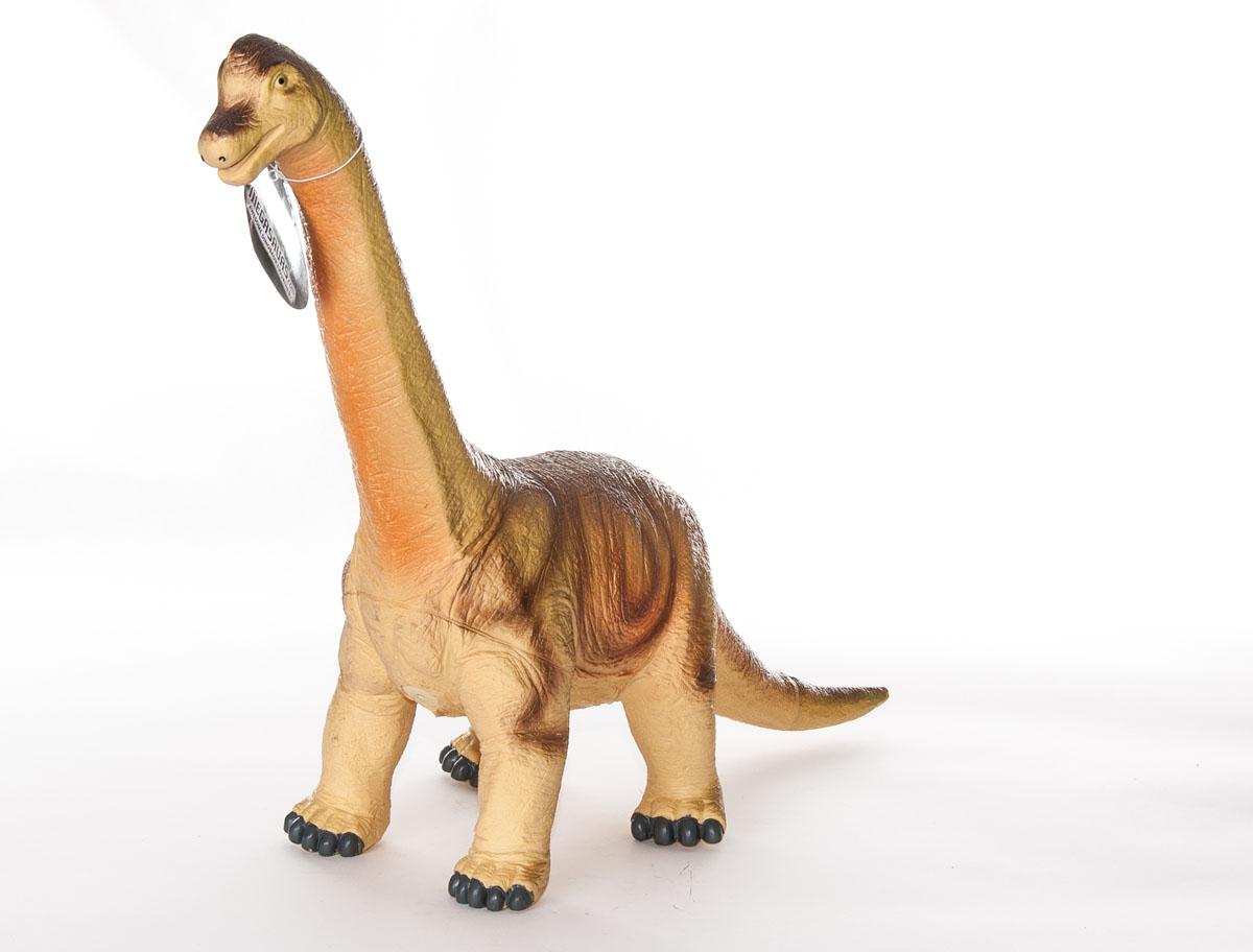 Фигурка Megasaurs БрахиозаврSV17873Фигурка Megasaurs Брахиозавр поможет вам мысленно перенестись в древнейший мир. Фигурка, изготовленная из высококачественной резины, повторяет внешний вид хищника, который жил миллионы лет назад. Игрушка представлена в виде высокого динозавра брахиозавра, высокий рост которого обеспечивала длинная шея, на которой находилась маленькая голова. Брахиозавр - растительноядный динозавр, живший в конце Юрского периода. В длину достигал 25 метров и весил около 36 тонн. Игрушка выполнена с поразительной детализацией, поэтому игра с ней будет по-настоящему интересной.