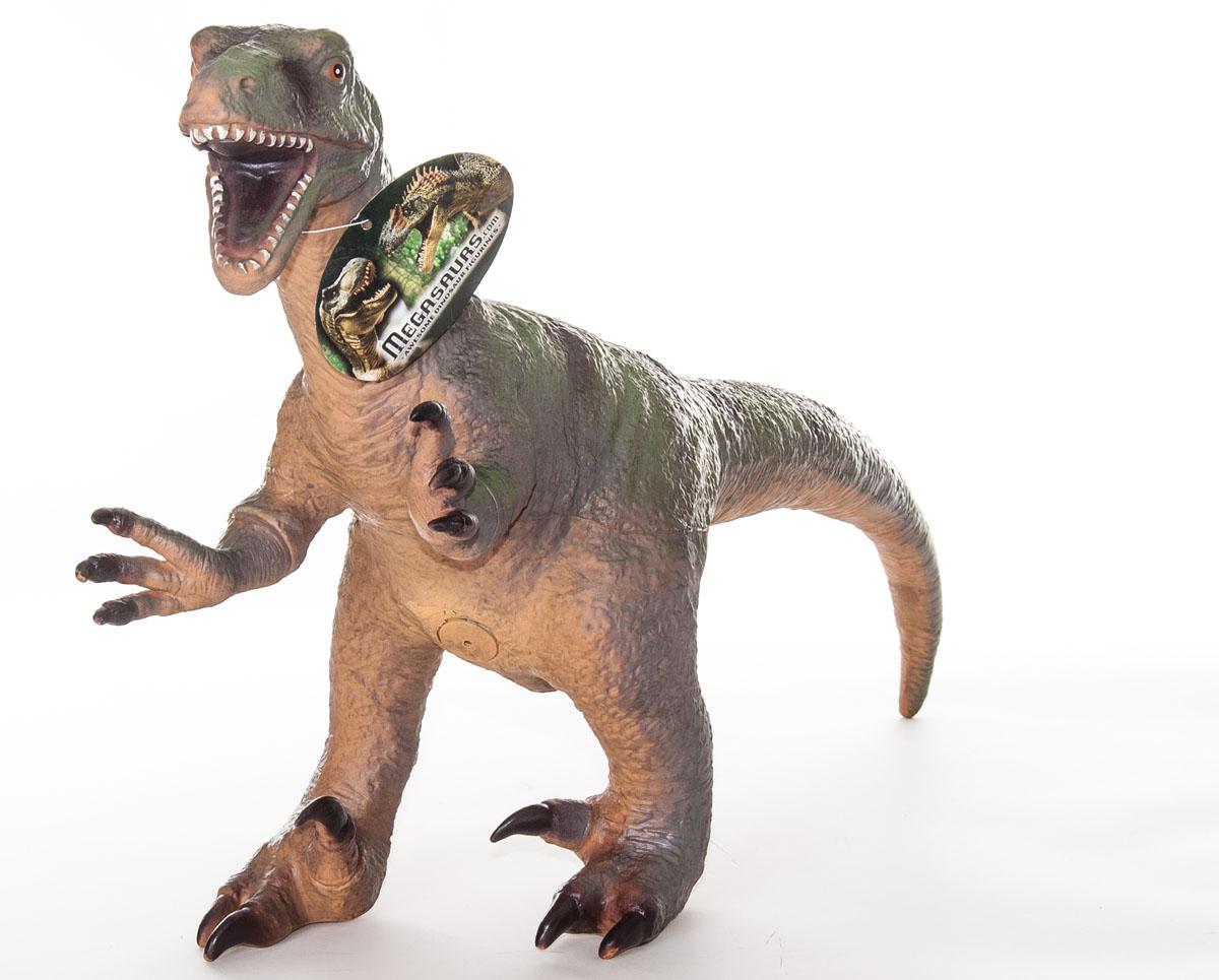 Фигурка Megasaurs ВелоцирапторSV17874Фигурка Megasaurs Велоцираптор поможет вам мысленно перенестись в древнейший мир динозавров. Фигурка, изготовленная из высококачественной резины, повторяет внешний вид хищника, который жил миллионы лет назад. Велоцираптор был небольшим двуногим хищником Мелового периода из семейства дромеозаврид. В длину достигал 1,8 м и весил приблизительно около 20 килограмм. Игрушка выполнена с поразительной детализацией, поэтому игра с ней будет по-настоящему интересной.