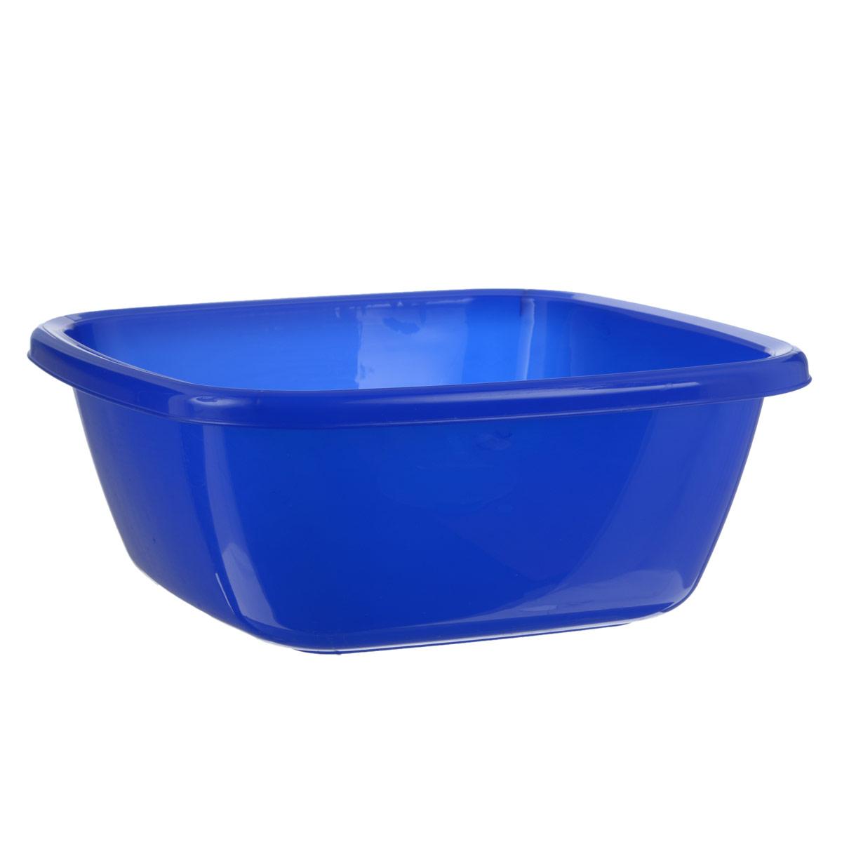 Таз Dunya Plastik, цвет: синий, 9,5 л10118Таз Dunya Plastik выполнен из прочного пластика. Он предназначен для стирки и хранения разных вещей. По бокам имеются удобные углубления, которые обеспечивают удобный захват. Таз пригодится в любом хозяйстве. Размер: 37 см х 37 см х 16 см. Объем: 9,5 л.