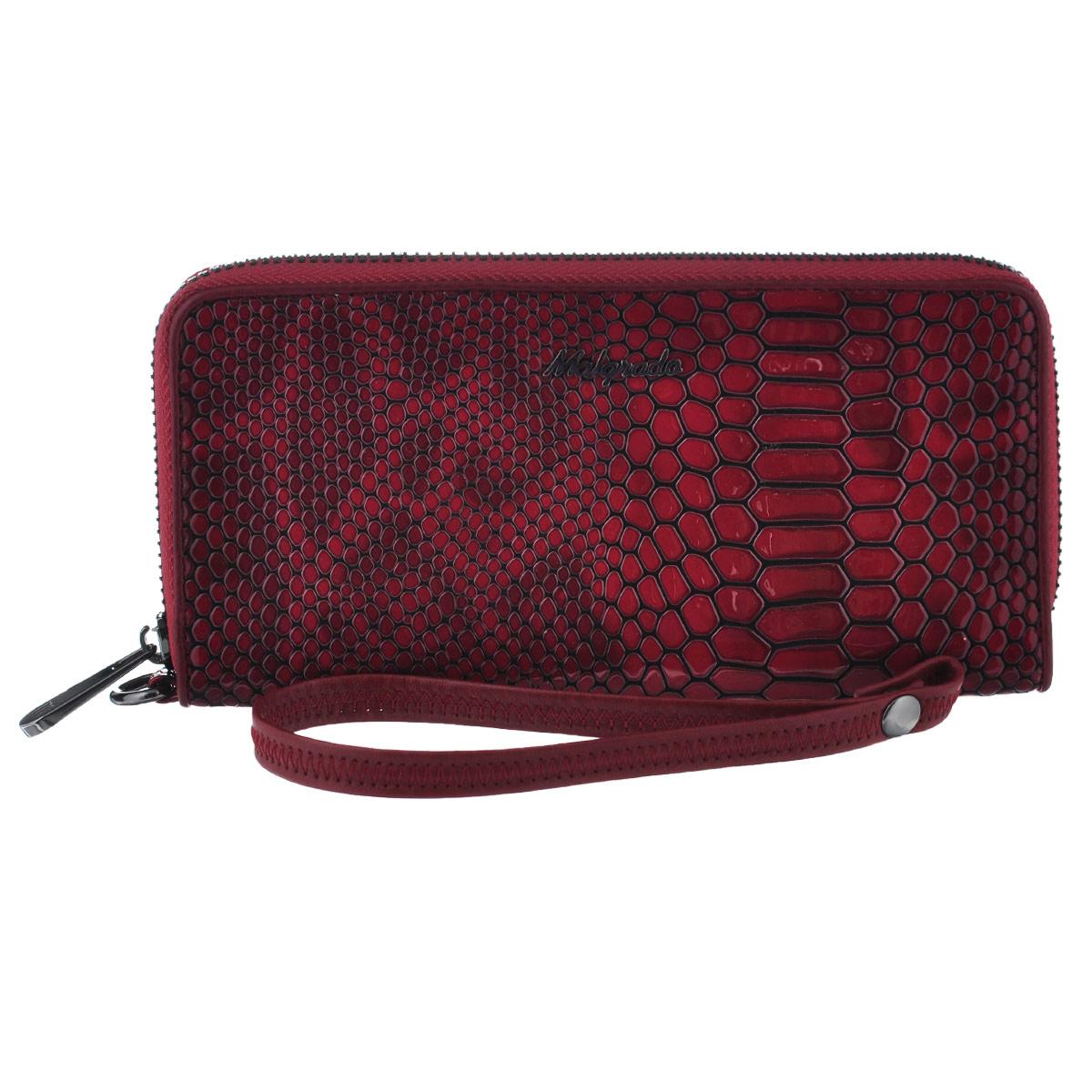 Кошелек женский Malgrado, цвет: темно-красный, бордовый. 73005-4030273005-40302# Red