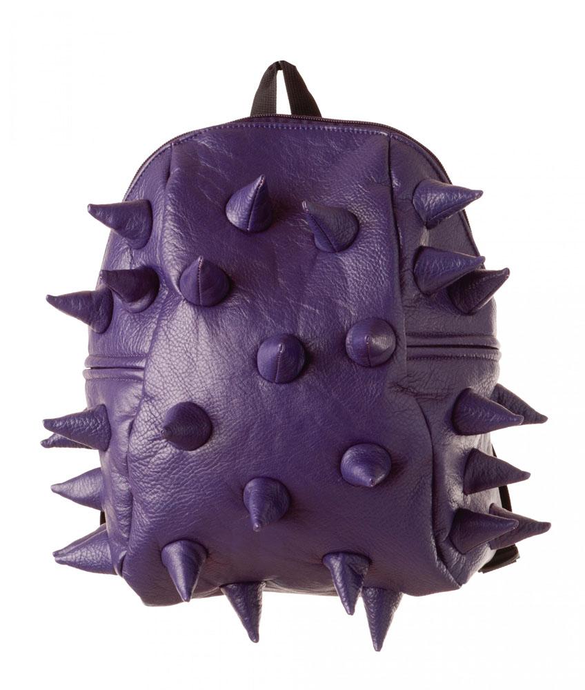 Рюкзак детский Rex Half, цвет: фиолетовый, 35 х 30 х 15 см81719Просто функциональный и красивый рюкзак - это так скучно! Будь личностью, выбирай MadPax!Это время рока! Дизайнеры MadPax ломают реальность, долой скуку и однообразие! Добро пожаловать в мир креатива, мир необычных идей и ярких эмоций!1.Просторное главное отделение вмещает книги и тетради.2.Мягкие плечевые ремни с несколькими пряжками для надежной фиксации.3.Литой логотип MadPax и небольшой карман-окошко для контактной информации4.Смелый дизайн! Легкий и вмстительный рюкзак с одним основным отделением с застежкой на молниии. В основное отделение с легкостью входит ноутбук размером диагонали 13 дюймов, iPad и формат А4. Незаменимый аксессуар как для активного городского жителя, так и для школьников и студентов. Широкие лямки можно регулировать для наиболее удобной посадки, а мягкая ортопедическая спинка делает ношение наиболее удобным и комфортным.Рекомендуемый уход: протирать губкой.Размер 300 х 350 х 150