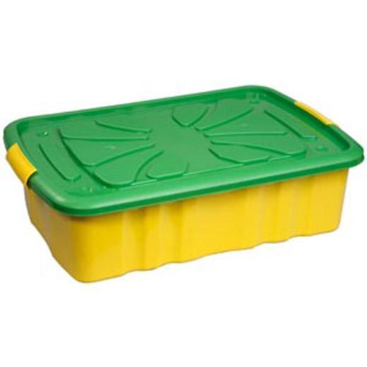 Ящик для игрушек 600*400*170 на колесах. С30000С30000Хранить игрушки в пластиковом ящике на колесах удобно и просто. Ящик легко перемещается с места на место, может храниться под кроватью малыша. Приучать ребенка к уборке в комнате гораздо проще, если у вас есть удобные, красивые детские пластмассовые ящики для хранения.