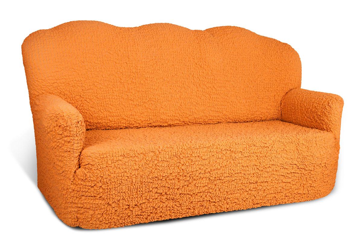 Чехол на 3-х местный диван Еврочехол Модерн, цвет: охра, 150-220 см1/2-3Чехол на 3-х местный диван Еврочехол Модерн выполнен из 60% хлопка, 35% полиэстера, 5% эластана. Благодаря прочности ткани этот чехол для мебели станет идеальным решением защиты мебели для владельцев домашних животных. Кроме того, натуральный состав ткани гипоаллергенен, а потому безопасен для малышей или людей пожилого возраста. Чехол актуален для таких стилевых решений, как скандинавский, лофт, английский, эко-стиль, нью-йоркский. Мягкая ткань из высокопрочного хлопка обеспечит вашему дивану достойную защиту от воздействий, а современный стиль подарит ежедневную радость от обновленной обстановки в доме. Растяжимость чехла по спинке (без учета подлокотников): 150-220 см.