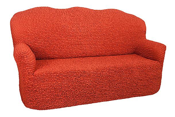 Чехол на 3-х местный диван Еврочехол Микрофибра, цвет: терракотовый, 160-240 см3/24-3Чехол на 3-х местный диван Еврочехол Микрофибра выполнен из 100% полиэстера. Он идеально подойдет для тех, кто хочет защитить свою мебель от постоянных воздействий. Этот чехол, благодаря прочности ткани, станет идеальным решением для владельцев домашних животных. Кроме того, натуральный состав ткани гипоаллергенен, а потому безопасен для малышей или людей пожилого возраста. Чехол Микрофибра отлично впишется в любой интерьер, особенно, если это классический стиль, конструктивизм, минимализм, постмодернизм. Еврочехол послужит не только практичной защитой для вашей мебели, но и приятно удивит вас мягкостью ткани и итальянским качеством производства. Растяжимость чехла по спинке (без учета подлокотников): 160-240 см.