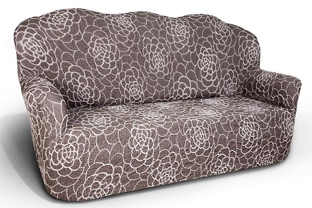 Чехол на 3-х местный диван Еврочехол Де Люкс, цвет: коричневый, 160-225 см13/87-3Чехол на 3-х местный диван Еврочехол Де Люкс выполнен из 54% акрила, 26% хлопка, 18% полиэстера, 2% эластана. Он идеально подойдет для тех, кто хочет защитить свою мебель от постоянных воздействий. Этот чехол, благодаря прочности ткани, станет идеальным решением для владельцев домашних животных. Кроме того, состав ткани гипоаллергенен, а потому безопасен для малышей или людей пожилого возраста. Такой чехол отлично впишется в любой интерьер. Еврочехол послужит не только практичной защитой для вашей мебели, но и приятно удивит вас мягкостью ткани и итальянским качеством производства. Растяжимость чехла по спинке (без учета подлокотников): 160-225 см.