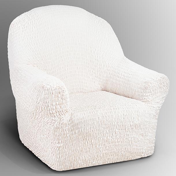 Чехол на кресло Еврочехол Аква, цвет: ванильный, 60-90 см15/90-1Чехол на кресло Еврочехол Аква выполнен из 100% полиэстера. Он идеально подойдет для тех, кто хочет защитить свою мебель от постоянных воздействий. При производстве чехла была использована влагостойкая пропитка, что не дает влаге впитываться в ткань, за счет чего ваша мебель остается в безопасности даже в случае попадания воды. Этот чехол, благодаря прочности ткани, станет идеальным решением для владельцев домашних животных. Кроме того, состав ткани гипоаллергенен, а потому безопасен для малышей или людей пожилого возраста. Такой чехол отлично впишется в любой интерьер. Еврочехол послужит не только практичной защитой для вашей мебели, но и приятно удивит вас мягкостью ткани и итальянским качеством производства. Растяжимость чехла по спинке (без учета подлокотников): 60-90 см.