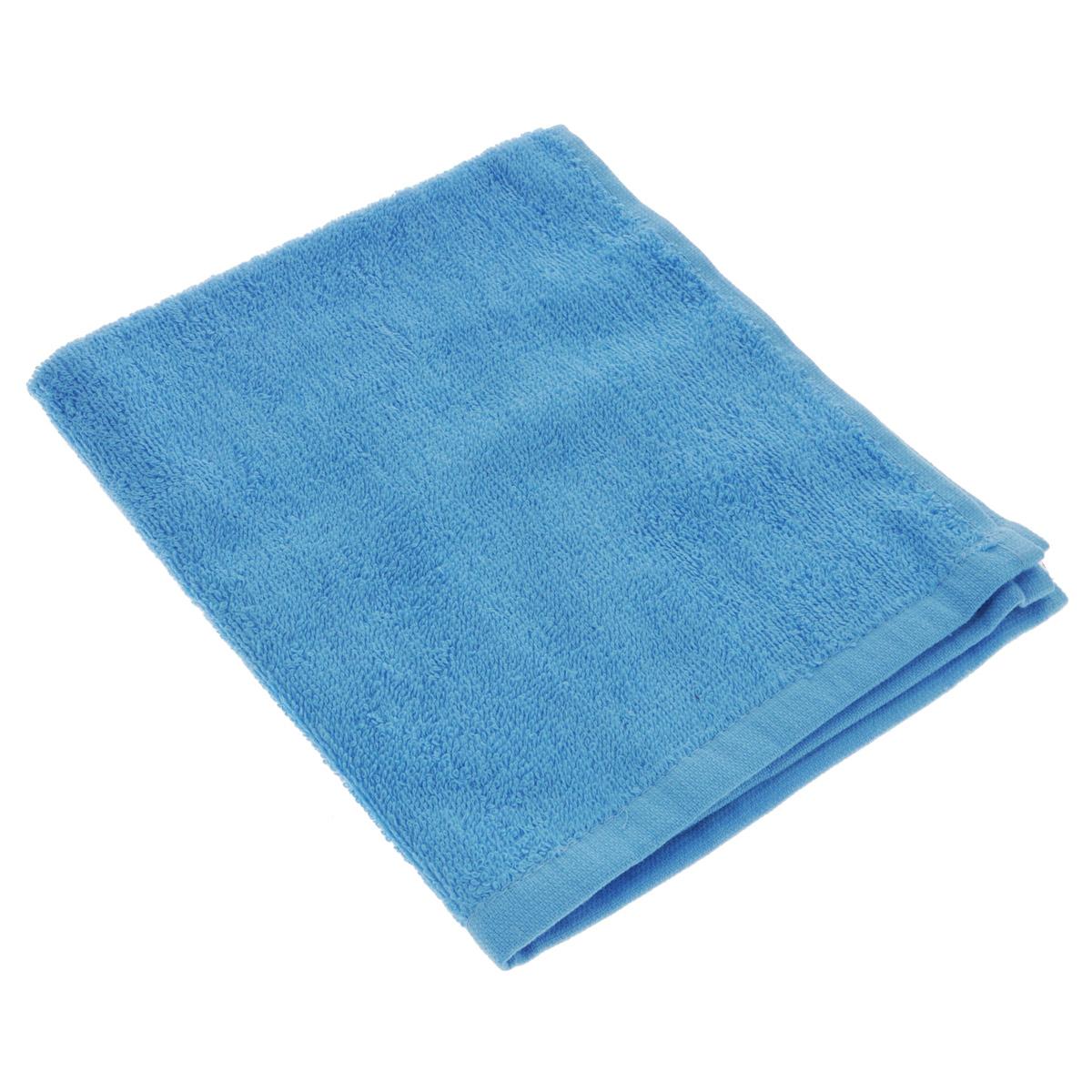 Полотенце махровое Osborn Textile, цвет: голубой, 40 х 40 смУзТ-МПБ-005-08-06В состав полотенца Osborn Textile входит только натуральное волокно - хлопок. Такое полотенце будет незаменимо в вашем быту. Оно создаст прекрасное настроение не только в ванной комнате, но и в кухне. Изделие прекрасно впитывает влагу и быстро сохнет. При соблюдении рекомендаций по уходу не линяет и не теряет форму даже после многократных стирок. Плотность: 400 г/м2.