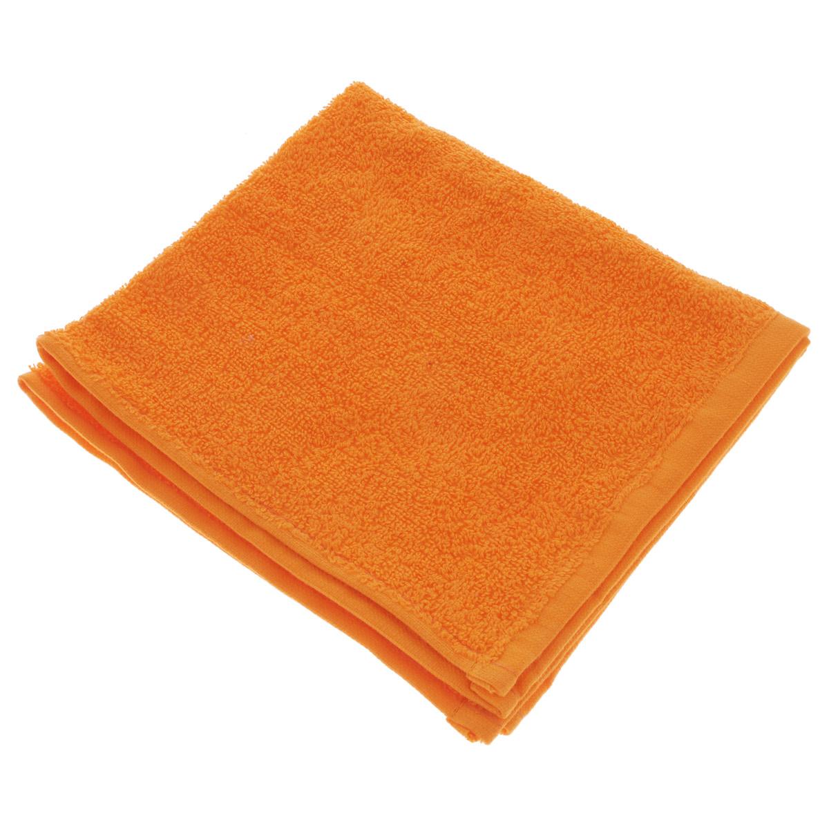Полотенце махровое Osborn Textile, цвет: оранжевый, 40 х 40 смУзТ-МПБ-005-08-27В состав полотенца Osborn Textile входит только натуральное волокно - хлопок. Такое полотенце будет незаменимо в вашем быту. Оно создаст прекрасное настроение не только в ванной комнате, но и в кухне. Изделие прекрасно впитывает влагу и быстро сохнет. При соблюдении рекомендаций по уходу не линяет и не теряет форму даже после многократных стирок. Плотность: 400 г/м2.