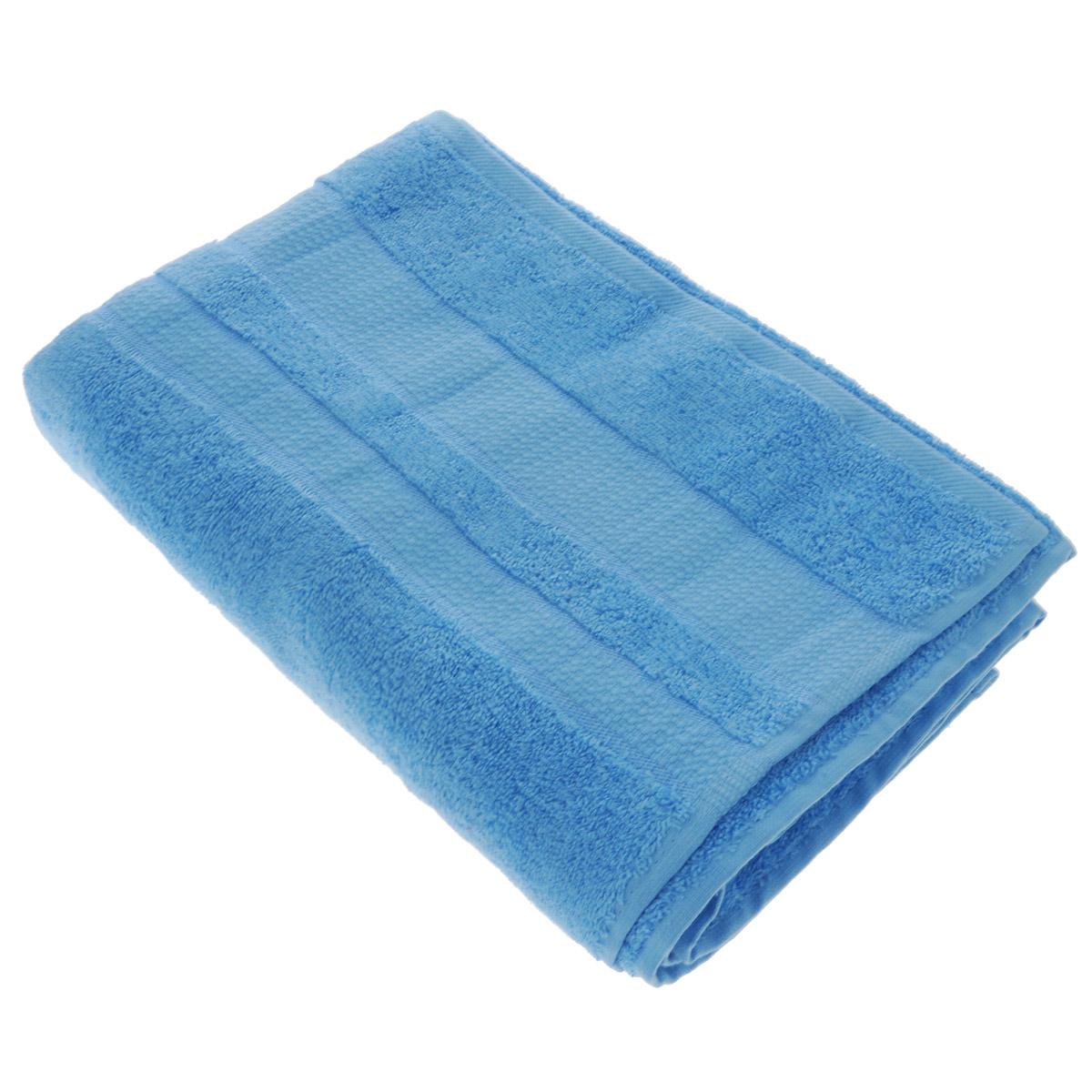 Полотенце махровое Osborn Textile, цвет: голубой, 70 см х 140 смУзТ-МПБ-004-02-06В состав полотенца Osborn Textile входит только натуральное волокно - хлопок. Лаконичные бордюры подойдут для любого интерьера ванной комнаты. Полотенце прекрасно впитывает влагу и быстро сохнет. При соблюдении рекомендаций по уходу не линяет и не теряет форму даже после многократных стирок. Плотность: 450 г/м2.