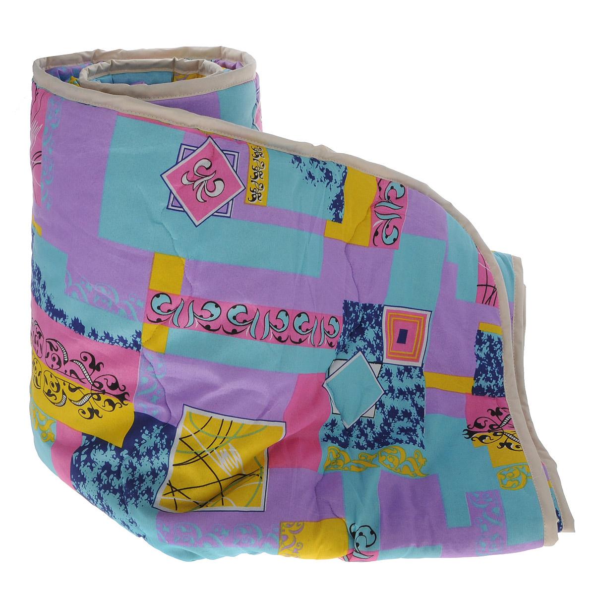 Одеяло всесезонное OL-Tex Miotex, наполнитель: полиэфирное волокно Holfiteks, цвет: желтый, бирюзовый, сиреневый, 200 х 220 смМХПЭ-22-3_желтый, бирюзовый, сиреневыйВсесезонное одеяло OL-Tex Miotex создаст комфорт и уют во время сна. Чехол выполнен из полиэстера и оформлен красочным рисунком. Внутри - современный наполнитель из полиэфирного высокосиликонизированного волокна Holfiteks, упругий и качественный. Прекрасно держит тепло. Одеяло с наполнителем Holfiteks легкое и комфортное. Даже после многократных стирок не теряет свою форму, наполнитель не сбивается, так как одеяло простегано и окантовано. Не вызывает аллергии. Holfiteks - это возможность легко ухаживать за своими постельными принадлежностями. Можно стирать в машинке, изделия быстро и полностью высыхают - это обеспечивает гигиену спального места при невысокой цене на продукцию. Плотность: 300 г/м2.