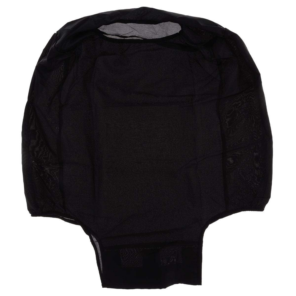 Чехол защитный для чемодана Eva, цвет: черный, 62 см х 42 см х 28 смК44Защитный чехол для чемодана Eva выполнен из водоотталкивающего материала - полиэстера. Чехол легко надевается и фиксируется при помощи липучек. Регулируется по высоте и степени наполненности. Чехол защитит ваш багаж от загрязнений, царапин и несанкционированного доступа, а также значительно продлит срок службы вашего чемодана. Размер чехла: 62 см х 42 см х 28 см.