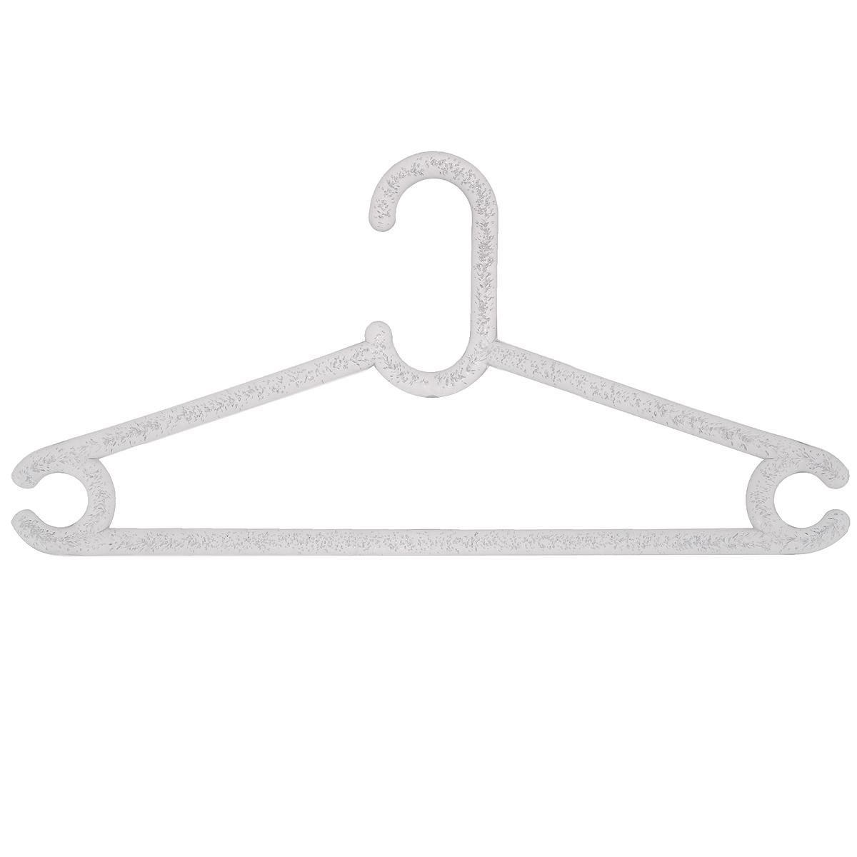 Вешалка для одежды MTM Aqua, цвет: прозрачный, размер 48-504146Вешалка для одежды MTM Aqua выполнена из полимерного материала. Изделие оснащено перекладиной и боковыми крючками. Вешалка - это незаменимая вещь для того, чтобы ваша одежда всегда оставалась в хорошем состоянии. Размер одежды: 48-50.
