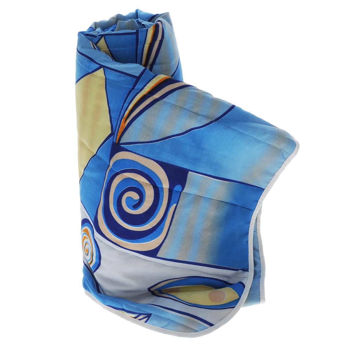 Одеяло летнее OL-Tex Miotex, наполнитель: холфитекс, цвет: синий, желтый, 200 х 220 смМХПЭ-22-1_синийЧехол летнего одеяла OL-Tex Miotex выполнен из высококачественного полиэстера. Наполнитель - холфитекс. Одеяло простегано - значит, наполнитель внутри будет всегда распределен равномерно. Изделие оформлено ярким рисунком. Идеально подойдет тем, кто ценит мягкость и тепло. Ручная стирка при температуре 30°С. Материал чехла: 100% полиэстер. Наполнитель: холфитекс.