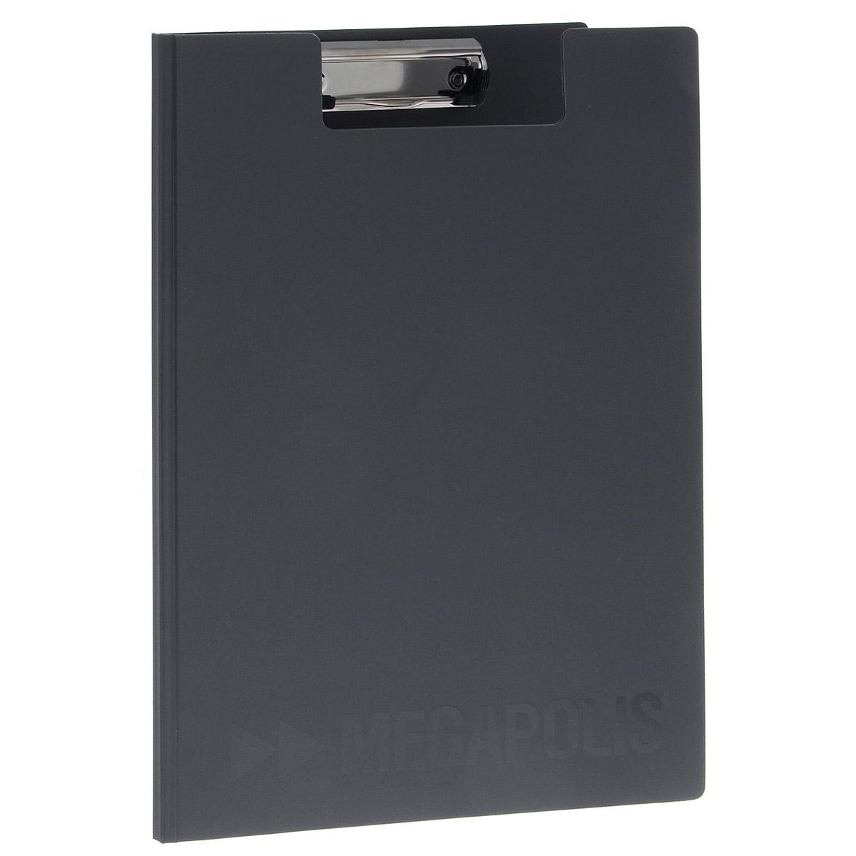 Папка-планшет Erich Krause Megapolis, формат А4, цвет: серый3877Папка-планшет Erich Krause Megapolis будет незаменима для работы с документацией в дороге или на складе, а так же может быть использована для подготовки и хранения текстов выступлений или докладов . Изготовлена из жесткого пластика, и ПВХ. Благодаря своей жесткости позволяет делать записи на весу. Металлический зажим надежно фиксирует листы, предотвращая сползание бумаги. Есть внутренний карман для заметок.