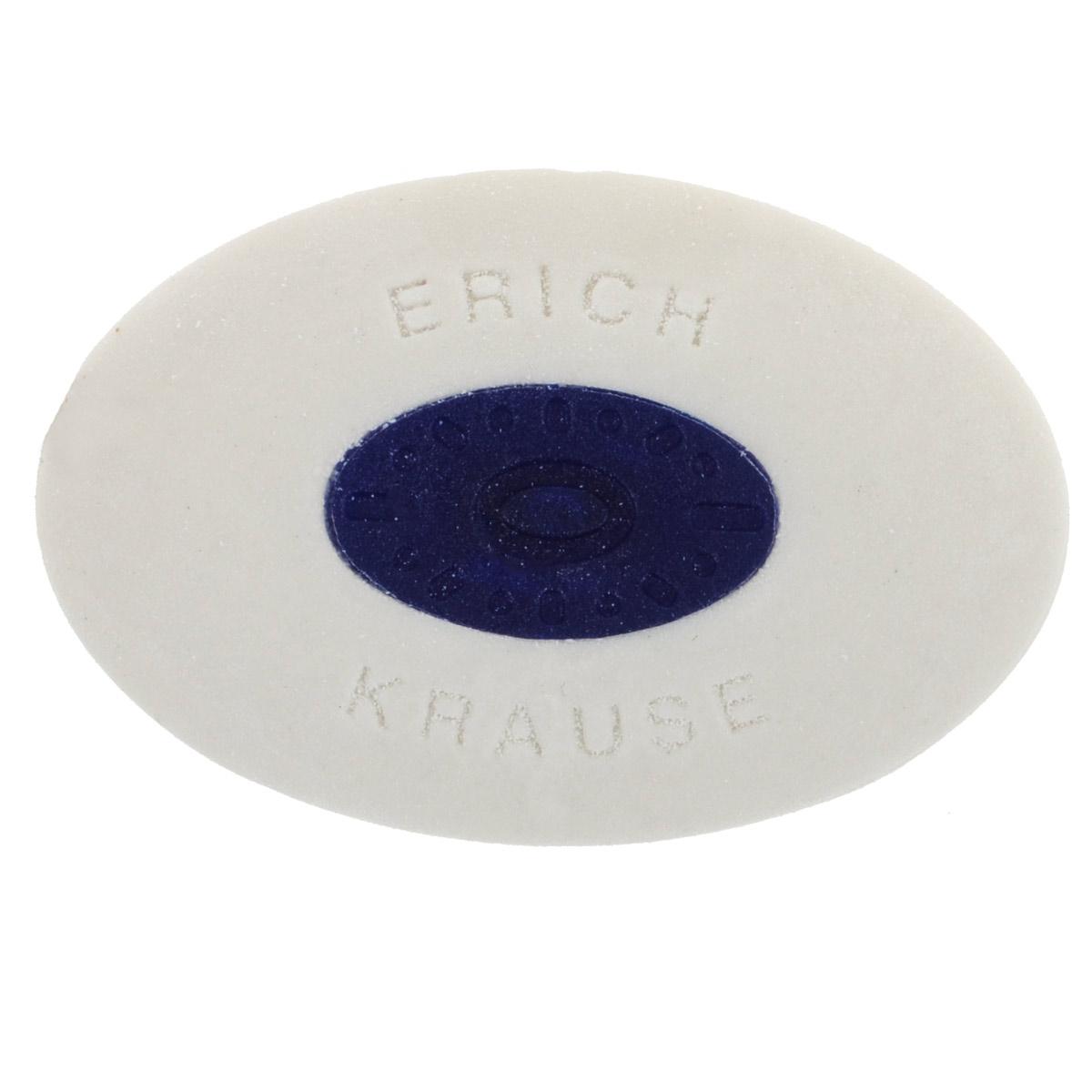 Ластик Erich Krause Smart, центровкой, цвет: белый58005Ластик Erich Krause Smart станет незаменимым аксессуаром на рабочем столе не только школьника или студента, но и офисного работника. Для удобства использования в центре расположена пластиковая вставка.