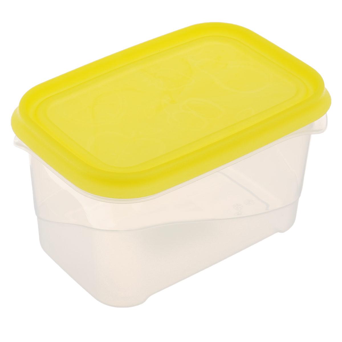 Контейнер Phibo Freeze, 0,7 лС11735Контейнер Phibo Freeze изготовлен из высококачественного полипропилена и не содержит Бисфенол А. Крышка легко и плотно закрывается, украшена узором в виде фруктов. Контейнер устойчив к воздействию масел и жиров, легко моется. Подходит для использования в микроволновых печах при температуре до +100°С, выдерживает хранение в морозильной камере при температуре -24°С, его можно мыть в посудомоечной машине при температуре до +75°С. Объем контейнера: 0,7 л.