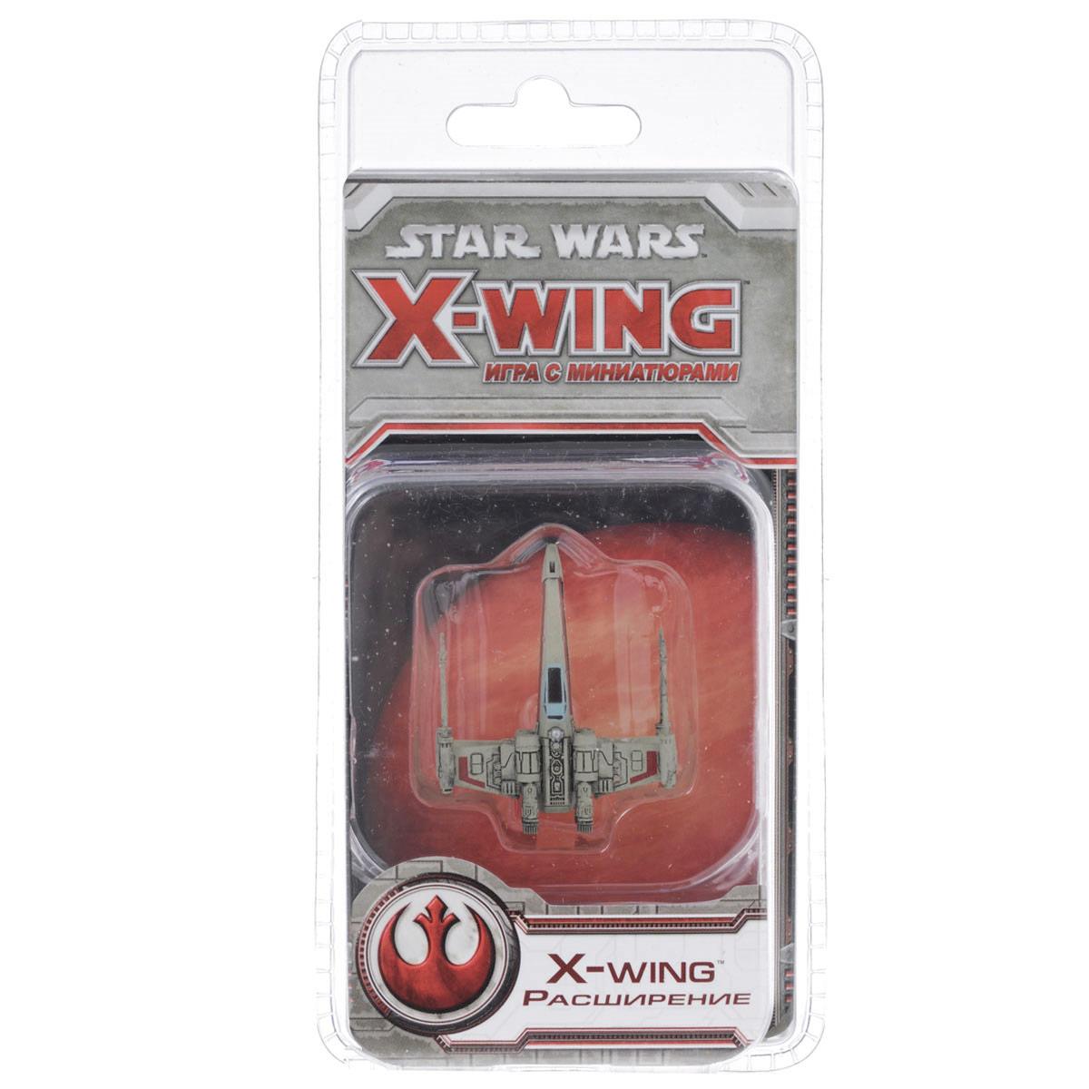 Hobby World Расширение для настольной игры Star Wars X-Wing X-Wing1202Давным-давно в далекой-далекой галактике.... Гремит гражданская война. Альянс продолжает бороться с тиранией Империи. Силы неравны, но в космических боях исход сражения решает гений адмиралов и мастерство пилотов. В войну вступает первая волна самых совершенных космических истребителей вселенной, пилоты которых рвутся в бой! За императора! За Альянс! В бой! X-Wing является расширением для Star Wars: X-wing - тактической настольной игры, воссоздающей захватывающие космические сражения просторов Далекой-далекой Галактики. Разработанный корпорацией Инком, истребитель Т-65 X-Wing быстро завоевал статус наиболее эффективной боевой машины в Галактике и стал основным оружием мятежа. В комплект входят раскрашенная фигурка пластикового истребителя, 9 карт, 17 жетонов и диск маневров. Время игры: 30-45 минут. Обращаем ваше внимание, что расширение X-Wing не является самостоятельной игрой. Для игры требуется базовый комплект Star Wars:...