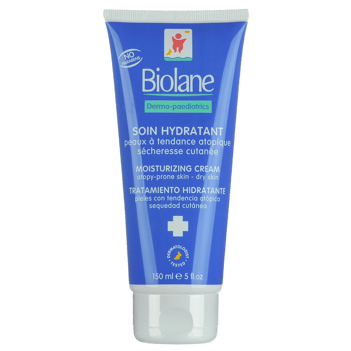 Biolane Детский крем-уход для лица и тела, увлажняющий, 150 млBSHEXPДетский крем-уход для лица и тела Biolane питает и смягчает сухую кожу грудных и маленьких детей, склонную к раздражениям. Представляет собой новейший комплекс увлажняющих и восстанавливающих веществ, включающих фосфолипиды, провитамин B5, аминокислоты и минеральные вещества и формулу Hydra-Bleine на основе масла зародышей пшеницы. Крем восстанавливает кожу ребенка, укрепляя ее естественный фосфолипидный слой: кожа младенца лучше противостоит внешнему воздействию (непогоде, трению о постель и одежду, и т.д.) Способствует регенерации поверхности кожи. Уменьшает раздражения кожи и укрепляет гидролипидную пленку на коже. Обеспечивает увлажнение и питание кожного покрова ребенка, снижает потерю влаги. Гипоаллергенен. Не содержит консервантов-парабенов и ароматизаторов. Товар сертифицирован.