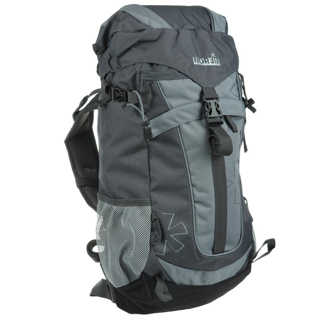 Рюкзак городской Norfin 4Rest, цвет: серый, 35 лNF-40211Высококачественный, надежный, и прочный рюкзак Norfin 4Rest. Благодаря многофункциональности данный рюкзак позволяет удобно и легко укладывать свои вещи. Особенности рюкзака: Имеет три рабочие зоны с сеткой Air Mesh, хорошо отводится избыточное тепло и влага при нагрузках Поясной ремень Грудная стяжка со свистком Выход под питьевую систему Фронтальный карман Боковые карманы из сетки Верхний клапан с внешним карманом.