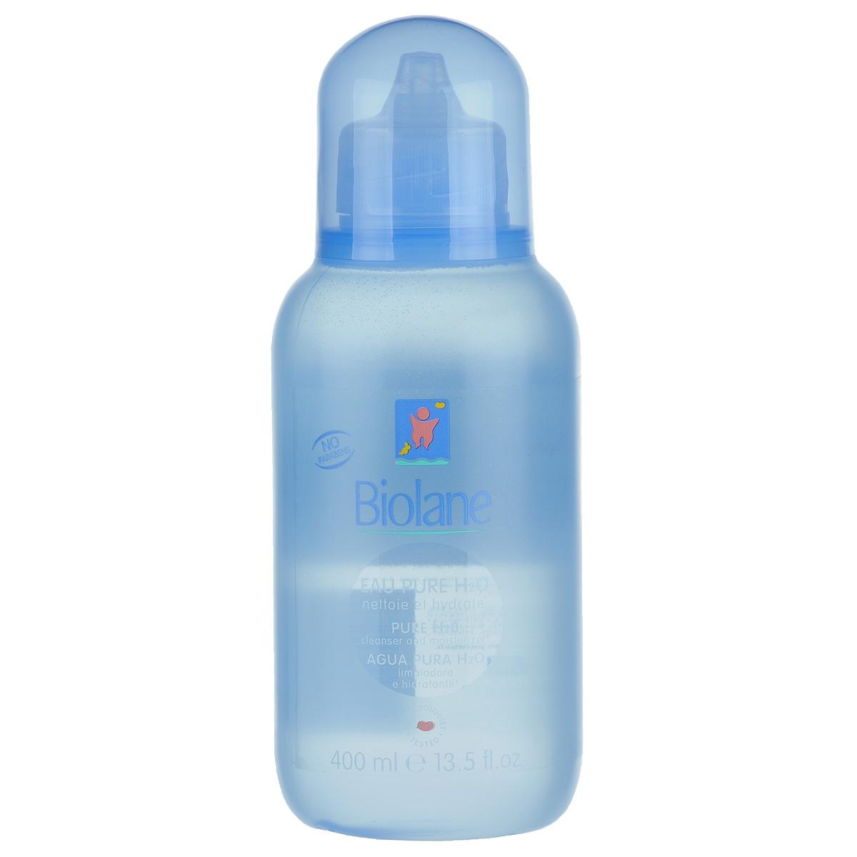 Biolane Детская очищающая жидкость, 400 млBH2OДетская очищающая жидкость Biolane с pH-сбалансированной формулой эффективно очищает лицо, тело и области под подгузником малыша. Идеальна для применения на всех чувствительных областях кожи младенца. Не требует смывания, что позволяет избежать контакта с водой и уберечь кожу крохи от высушивающего действия обычной воды. Поддерживает естественный баланс кожи ребенка. Уникальный комплекс биологически активных веществ на основе масла зародышей пшеницы Hydra-Bleine способствует увлажнению кожи и питает ее. Кожа ребенка остается свежей, мягкой, с легким приятным ароматом. Товар сертифицирован.
