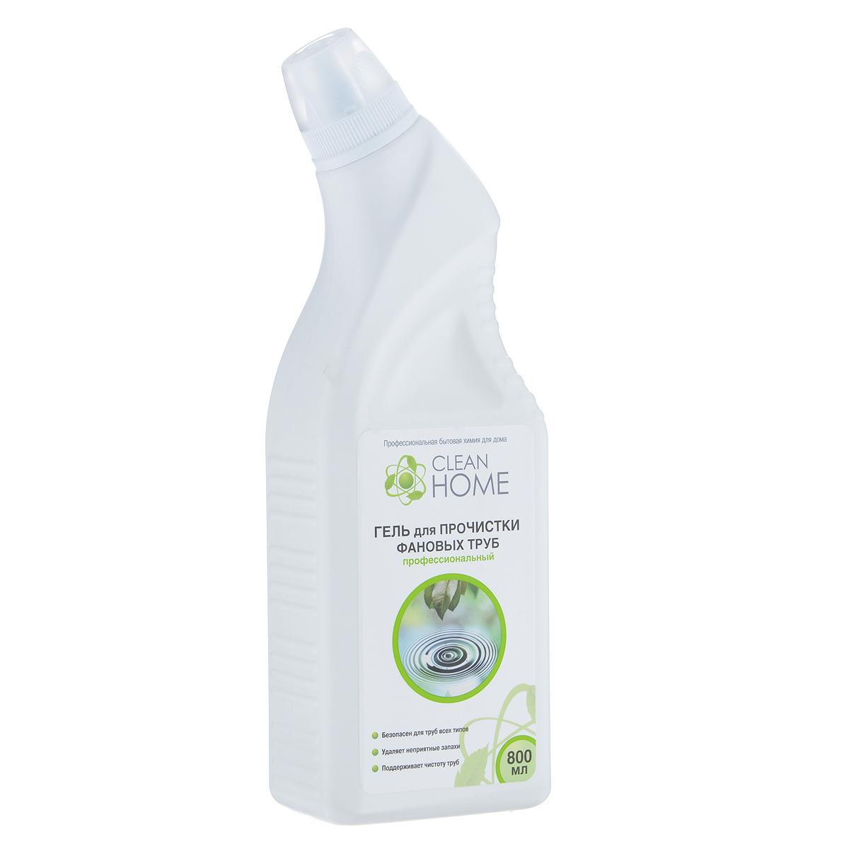 ГельClean Home, для прочистки фановых труб, 800 мл440Эффективное средство Clean Home предназначено для удаления засоров в канализационных трубах, сифонах, унитазах от органических загрязнений, пищевых остатков, жира, волос и бумаги. Удаляет неприятные запахи. Благодаря гелевой форме глубоко проникает в трубу даже при наличии в ней воды. Безопасен для всех видов металлических и пластиковых труб, позволяет продлить срок безотказной работы бытового сантехнического оборудования. Линия профессиональной бытовой химии для дома Clean Home представлена гаммой средств для стирки и уборки дома. Clean Home - это весь необходимый ряд высокоэффективных универсальных средств европейского качества. Состав: вода, гидроксид натрия, функциональные добавки.