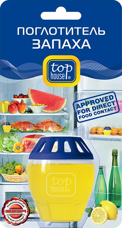 Поглотитель запаха для холодильника Top House Лимон392340Поглотитель запаха для холодильника Top House Лимон поглощает неприятные запахи, даже очень резкие и стойкие. Способствует долгому сохранению свежести и вкусовых качеств продуктов в холодильнике. Не меняет вкус и запах продуктов, хранящихся в холодильнике. Продолжительность действия до 2-х месяцев при объеме холодильной камеры до 200 литров. Состав: более 30% вода, менее 5%: неионные ПАВ, загуститель, поглотитель запаха, консервант, ароматизатор, краситель. Товар сертифицирован.