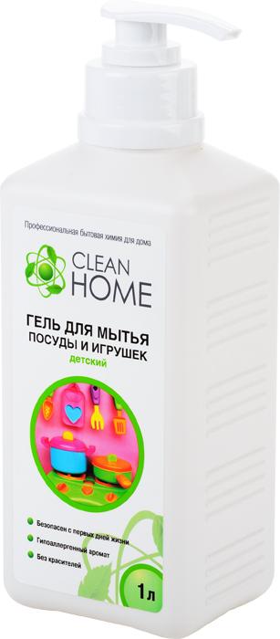 Гель Clean Home, для мытья детской посуды и игрушек, с дозатором, 1 л748712Безопасный гель Clean Home предназначен для мытья детской посуды, бутылочек из стекла и пластика, сосок из латекса и силикона, всех видов игрушек (кроме мягких), гигиенических принадлежностей, а также мытья любых поверхностей, с которыми соприкасается ребенок с первых дней жизни. Сбалансированный состав геля содержит самые современные и безопасные моющие вещества, а гипоаллергенный аромат не вызывает аллергии. Не содержит: красителей, фосфатов хлора и формальдегида. Линия профессиональной бытовой химии для дома Clean Home представлена гаммой средств для стирки и уборки дома. Clean Home - это весь необходимый ряд высокоэффективных универсальных средств европейского качества. Состав: вода, 5-15% АПАВ, 5-15% НПАВ, глицерин, хлорид натрия, аллантоин, парфюмерная композиция, лимонная кислота, метилхлороизотиазолинон, метилизотиазолинон.