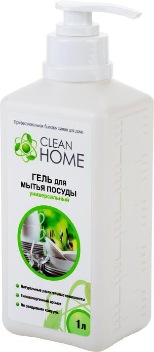Гель Clean Home, для мытья посуды, с дозатором, 1 л748702Эффективное средство Clean Home предназначено для удаления жира и других загрязнений с любой посуды и кухонной утвари. Насыщенная формула геля эффективно растворяет жир даже в холодной воде. Необычайно экономичен, густая пена позволяет вымыть большое количество посуды. Легко смывается, придавая посуде блеск. Бережно относится к коже рук. Обладает приятным запахом. Линия профессиональной бытовой химии для дома Clean Home представлена гаммой средств для стирки и уборки дома. Clean Home - это весь необходимый ряд высокоэффективных универсальных средств европейского качества. Состав: вода, 5-15% АПАВ, 5-15% НПАВ, глицерин, функциональные добавки, карбамид, парфюмерная композиция, метилхлороизотиазолинон, метилизотиазолинон.