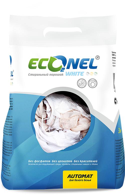 "���������� ������� Econel ""White"", �������, ��� ������ �����, 3 ��"