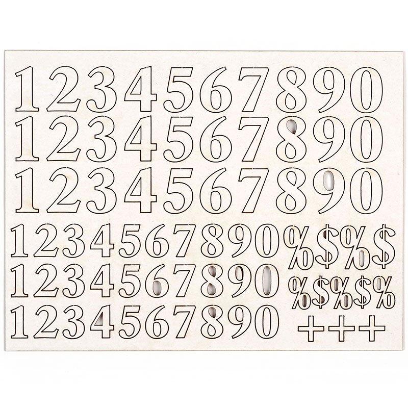 Чипборд Цифры, 72 штAM817024Чипборд Цифры изготовлен из плотного картона. Их отличие от простого картона в толщине и в том, что они ломаются при сгибании. Элементы украшенные цветами и узорами, предназначены для дальнейшего декорирования. В наборе - 72 элемента разного размера. Чипборд активно используется в технике скрапбукинг для украшения скрап-страничек, фотоальбомов, блокнотов, дневников, а также для оформления подарочных коробок и конвертов. Количество чипбордов: 72 шт. Средний размер чипборда: 1,5 см х 2 см.