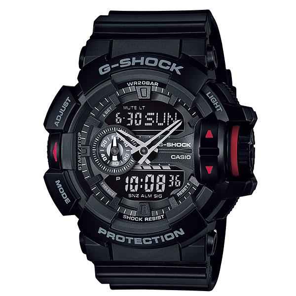 Наручные часы CASIO мужские, цвет: черный, . GA-400-1BGA-400-1B