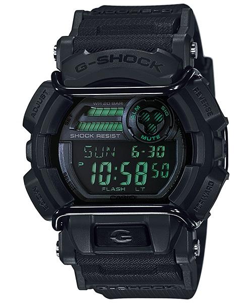 Часы мужские наручные Casio G-SHOCK, цвет: черный. GD-400MB-1EGD-400MB-1EСтильные мужские часы Casio G-SHOCK выполнены из полимерных материалов и минерального стекла. Изделие дополнено светодиодной подсветкой высокой яркости, корпус часов оформлен символикой бренда. В часах предусмотрен цифровой отсчет времени. Часы оснащены функцией мирового времени, которая позволяет мгновенно выяснять текущее время. Часы могут быть настроены на подачу тонального или светового сигнала при наступлении выставленного времени. Функция таймера позволит обеспечить обратный отсчет времени, начиная с выставленного и подачу тонального или светового сигнала, когда отсчет доходит до нуля. Функция секундомера позволит замерять прошедшее время в пределах тысячи часов с точностью 1/100 секунды, предусмотрен будильник. Степень влагозащиты 20 atm. Изделие дополнено ремешком из полимерного материала, который обладает антибактериальными и запахоустойчивыми свойствами. Ремешок застегивается на пряжку, позволяющую максимально комфортно и быстро снимать и одевать часы. Часы...