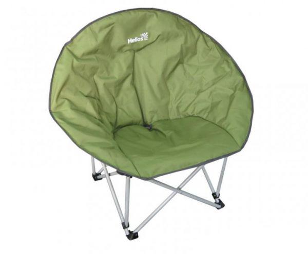 Кресло складное Helios, цвет: зеленый, 42 см х 44 см х 87 смHS-214Складное круглое кресло Helios с удобным широким сиденьем - незаменимый предмет для отдыха на природе, на рыбалке или на даче. Кресло имеет прочный металлический каркас с порошковым покрытием, легко собирается и разбирается. В сложенном виде кресло удобно для хранения и переноски. В комплекте чехол для хранения и переноски.