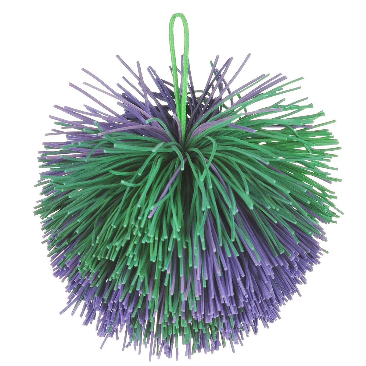 Мяч Ogosoft, цвет: фиолетовый, зеленыйOG0401Мячик, выполненный из прочного материала, предназначен для игры в огоспорт. Игра Огоспорт - это очень простая и увлекательная игра, которая совмещает в себе элементы тенниса, бадминтона, фрисби и других игр на природе, пользующиеся популярностью. В нее можно играть большой компанией на небольшой территории. Благодаря его яркой окраски его легко можно найти.