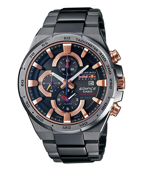 Часы мужские наручные Casio, цвет: мокрый асфальт, розовое золото. EFR-541SBRB-1AEFR-541SBRB-1AСтильные мужские часы Casio EDIFICE выполнены из нержавеющей стали и минерального стекла. Изделие оформлено символикой бренда. В часах предусмотрен аналоговый отсчет времени. Функция мирового времени позволяет мгновенно выяснять текущее время в любой точке земного шара. Функция секундомера позволит замерять прошедшее время в пределах тысячи часов с точностью 1/100 секунды, предусмотрен будильник. Степень влагозащиты 10 atm. Изделие дополнено стальным браслетом, который застегивается замок-клипсу, позволяющий максимально комфортно и быстро снимать и одевать часы. Часы поставляются в фирменной упаковке. Многофункциональные часы Casio EDIFICE подчеркнут мужской характер и отменное чувство стиля у их обладателя.
